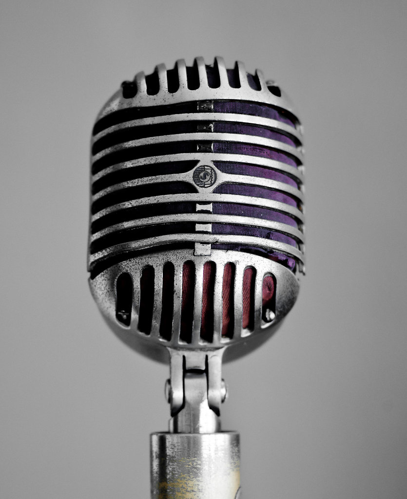 House Microphone, Sun Studio, Memphis, Tennessee