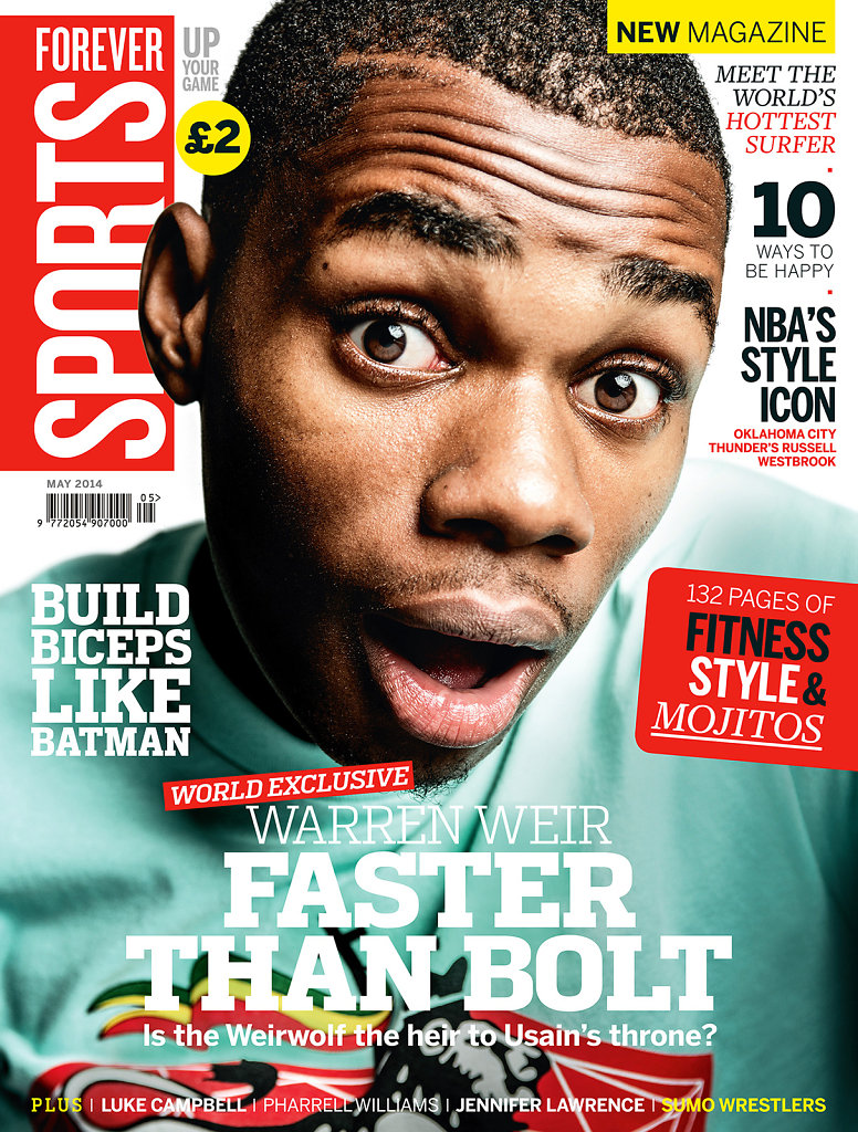 Warren Weir Cover for Forever Sports