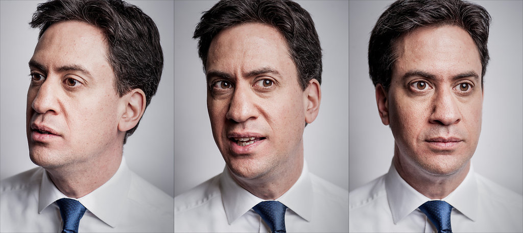 Ed Miliband for Shortlist Magazine
