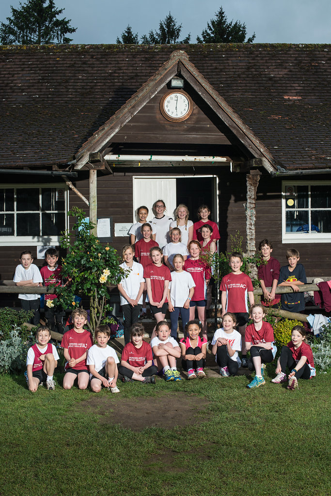 Dorking Athletics Club photographed at Pixham