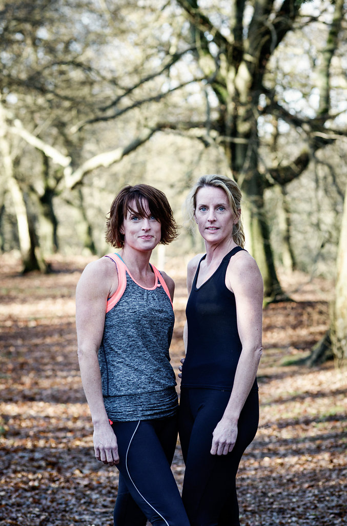 Sam & Lisa Edwards photographed at Abinger Roughs