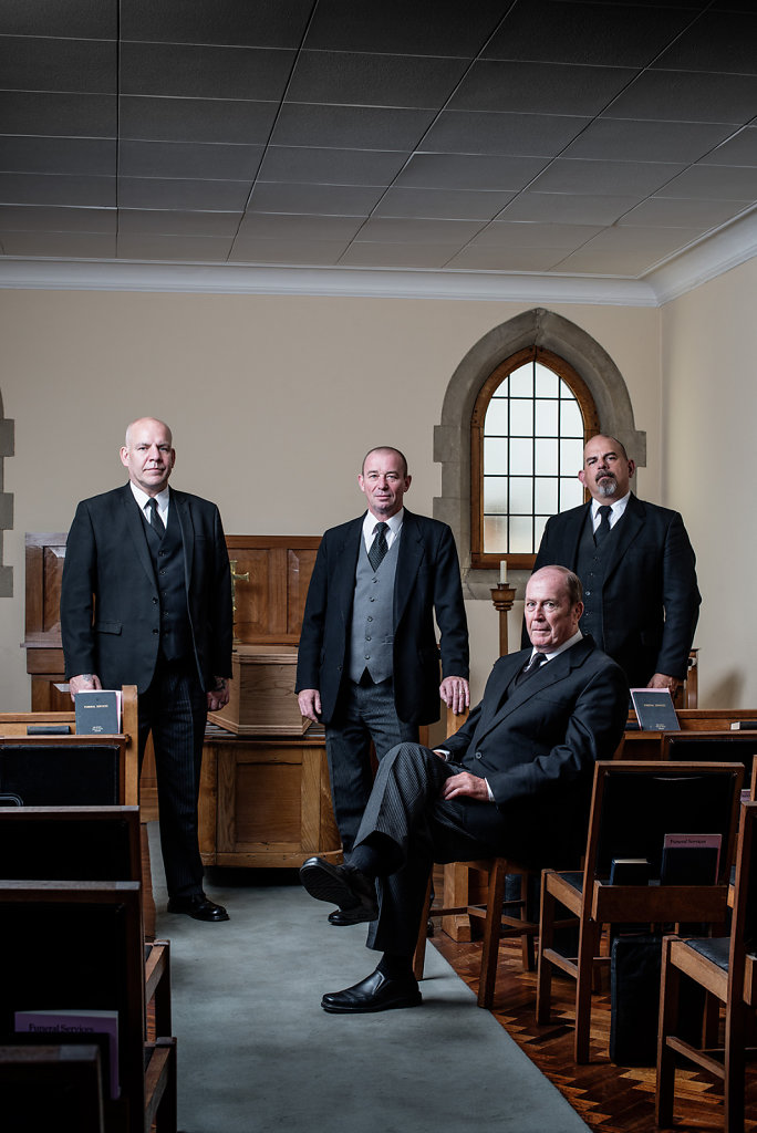 Paul Smith, Chris Stoneman, John Witty & Marc Isely, Sherlocks Funeral Directors